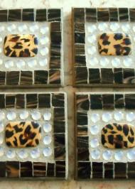 leopard-coasters