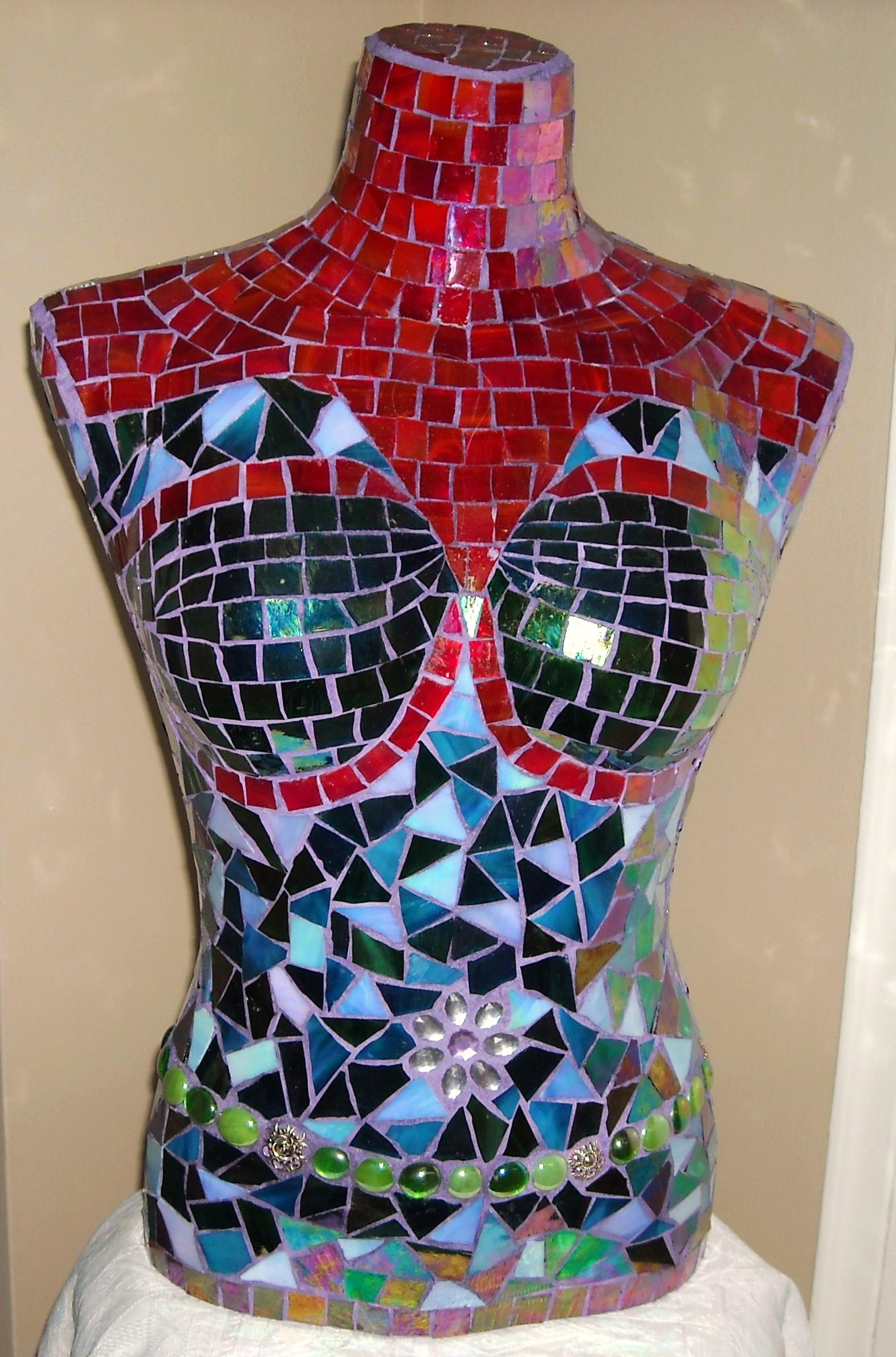 Mosaic torso