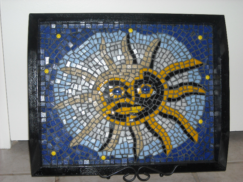 Mosaic Celestial Serving Tray