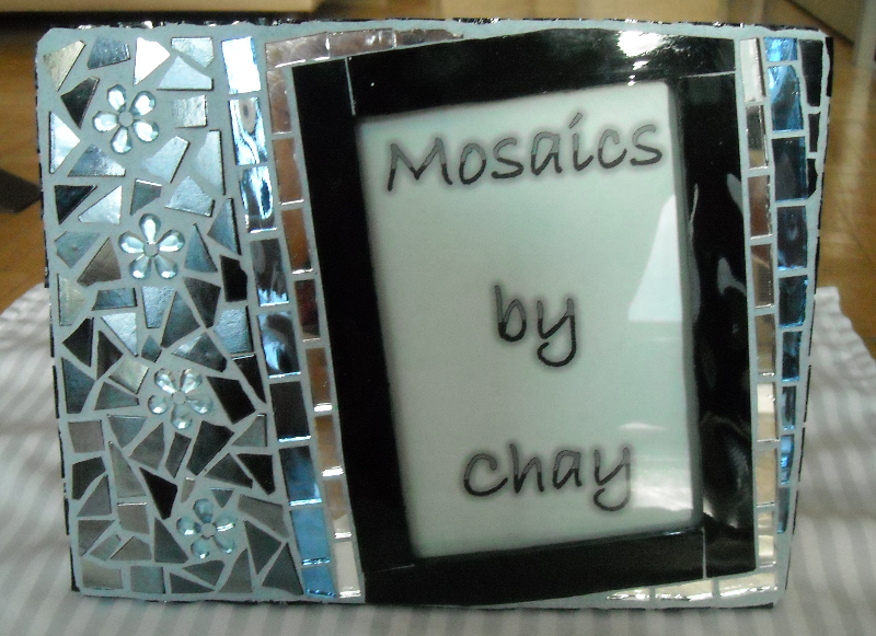 Mosaic picture frame Geometric