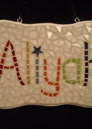 Mosaic nameplate