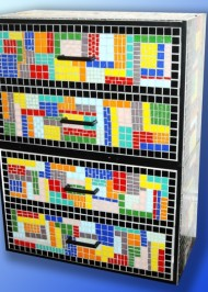 Mosaic Chest-of-drawers