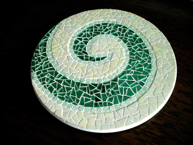 Lazy Susans And Trivets Handcrafted Mosaic Artworks Toronto