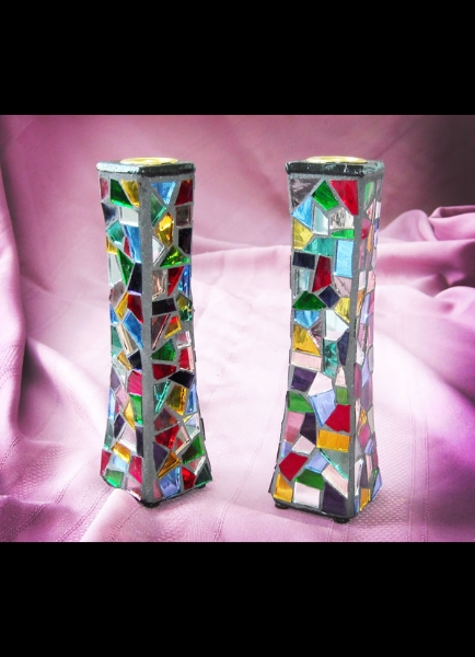 Candlesticks - Mosaic Mirror