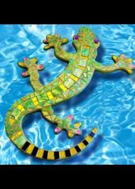 Gordon Gecko - Mosaic wall art