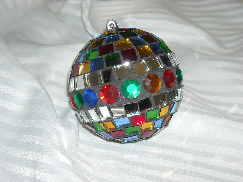 Mosaic Christmas ornament Multi