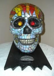 Mosaic skull Fearless