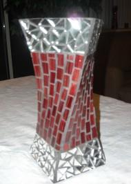 Mosaic vase Twisted