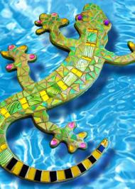 Mosaic Gordon Gecko